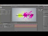 RampanTV.com Tutorial - Create A Procedural 3D Paint Splat Logo Animation In After Effects