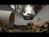 Drainage Ditch Half Pipe - Red Bull Drenaje