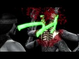 All Mortal Kombat 9 X-Ray Moves MK9 2011 DLC HD