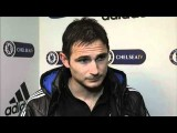 Chelsea FC - Lampard On Taking Penalties