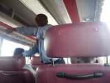 FUNNY Ghanaian Pastor Preaching On Kumasi - Accra VIP Bus. Watch Evangelist Oduro