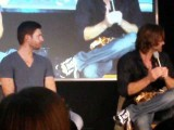 J2 Panel,Jibcon: Misha Asks J2 A Question+J2 Being Dorks With The Screen Behind Them & Barking