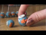 Polymer Clay FISH Bowl Tank Tutorial