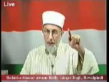 Shaykhul Islam Dr Tahirul Qadri Addresses The Public Rally In Rawalpindi