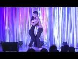 Nery Garcia & Giana Montoya Orlando Salsa Congress Performance Of Kama Bachata AcroYoga