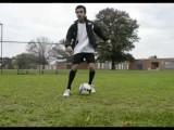 Soccer Football Tricks- Zidane Maradona Spin, The Step Over
