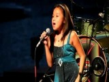 My Heart Will Go On - Celine Dion Titanic 2 Live Cover By 9 Y O Dominique Dy At Riverfest Idol