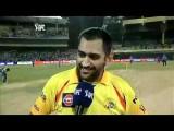 Cricket - Thala Dhoni Speaking Tamil
