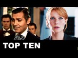 Top Ten Movie Love Interests - Pepper Potts, Rhett Butler, Holly Gennaro - Two To Kiss!