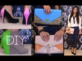 Style DIY: COLOR BLOCK Bags & Shoes In 30 Minutes