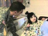 US Soldier Comes Home, Surprises His Daughter In The Hospital