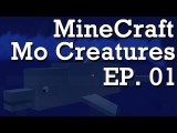 Minecraft - Mo Creatures Mod - Ep. 01 - Time To Breed! Horses + Dolphins