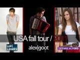 Fall Tour W Alex Goot + Tiffany Alvord!