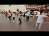 Dancing Zorbas In Street -