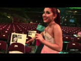 Ariana Grande Sneaks Cambio Inside The 2012 Kids' Choice Awards