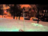 REDNECK SNOWBOARD PULL!!!!