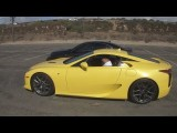 $375000 Lexus LFA Super-Car Test Drive - Rolling To El Segundo Beach