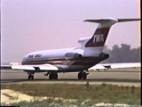Historic TWA Boeing 727-231 Adv Arriving & Departing ONT
