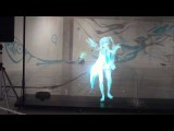Japanese Dancing Hologram Girl - Hatsune Miku