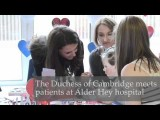 The Duchess Of Cambridge Visits Alder Hey Hospital