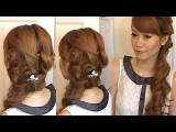Formal Side Low Do With Pin Curls
