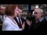 Australian PM Gillard Confronted Over Carbon Tax 'lies' | ABC News
