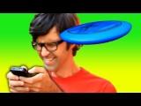 Text Vs. Frisbee