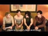 One Direction Enseña A Hablar Inglés Británico! Traducido Al Español