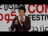 Wonho Chung In Amman, Jordan Life, Art And Humor ونهو تشونج في الأردن