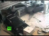 Total Breakdown: Raging Gynecologist Trashes Car Shop CCTV