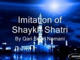 Imitation Of Shaykh Afasi, Ghamdi Etc. By Qari Nomani Part 2