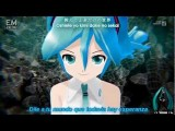 Hatsune Miku - Tell Your World 『Romaji + Spanish SUB』 日本語歌詞付