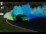 Ford Falcon V8 Skid Demo - RATTLA - D1NZ Grand Final, Hampton Downs 2011