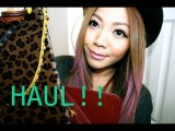 Hong Kong Fashion Haul + Giveaway WINNER!!!