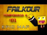 Failkour: EPIC JUMPS - MINECRAFT PARTE 01