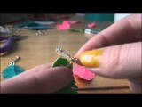 How To Make Duct Tape Feather Earrings