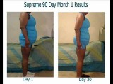 Supreme 90 Day 1st Month Results