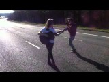 It Aint Me Babe Gabrielle Aplin Cover In The Middle Of The M1!