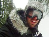EPIC SNOWBOARDING CRASH! 2.20.12 - Day 1026