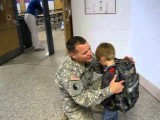Military Dad, Home From Iraq, Surprises Son At School