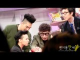 120407 - Go Show GD Arm Wrestling