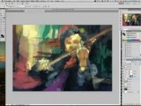 Sherlock - Livestream Time Lapse Painting By Alicexz