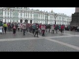 KPOP Rainbow Flashmob In Saint Petersburg Russia