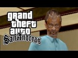 GTA San Andreas - Fazendo A Barba Com Morgan Freeman