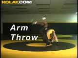 Arm Throw KOLAT.COM Wrestling Takedowns Techniques Instruction