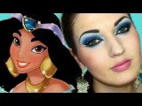 Princess Jasmine Arab Makeup المكياج العربي