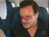 Bono & Brian Williams