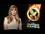 The Hunger Games Exclusive: Jennifer Lawrence