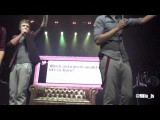 One Direction - Twitter Questions With Prince Of Bel Air Rap - Front Row, Wellington NZ!