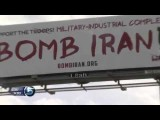 Creator Explains Message Behind Bomb Iran Billboard